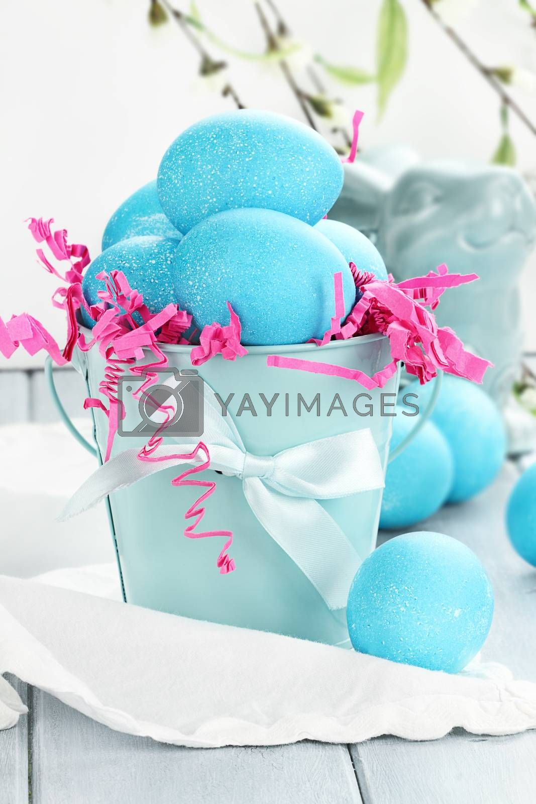 Royalty free image of Blue Easter Eggs by StephanieFrey