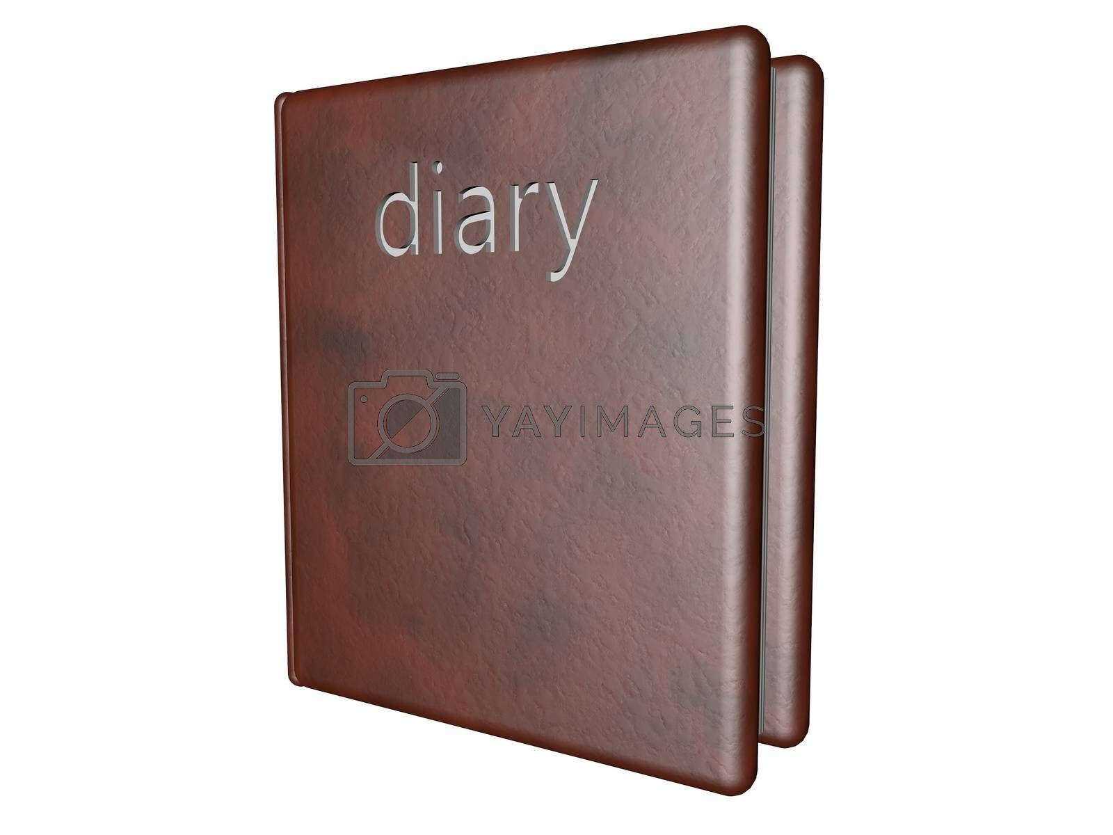 Royalty free image of Diary by Koufax73
