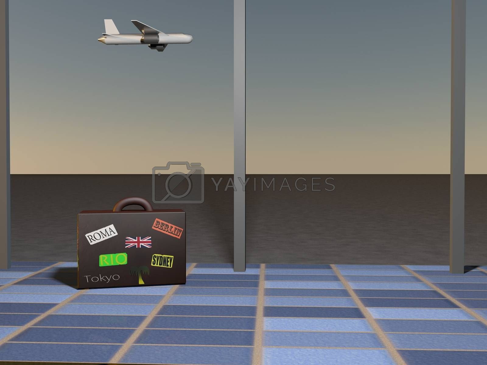 Royalty free image of Airport by Koufax73