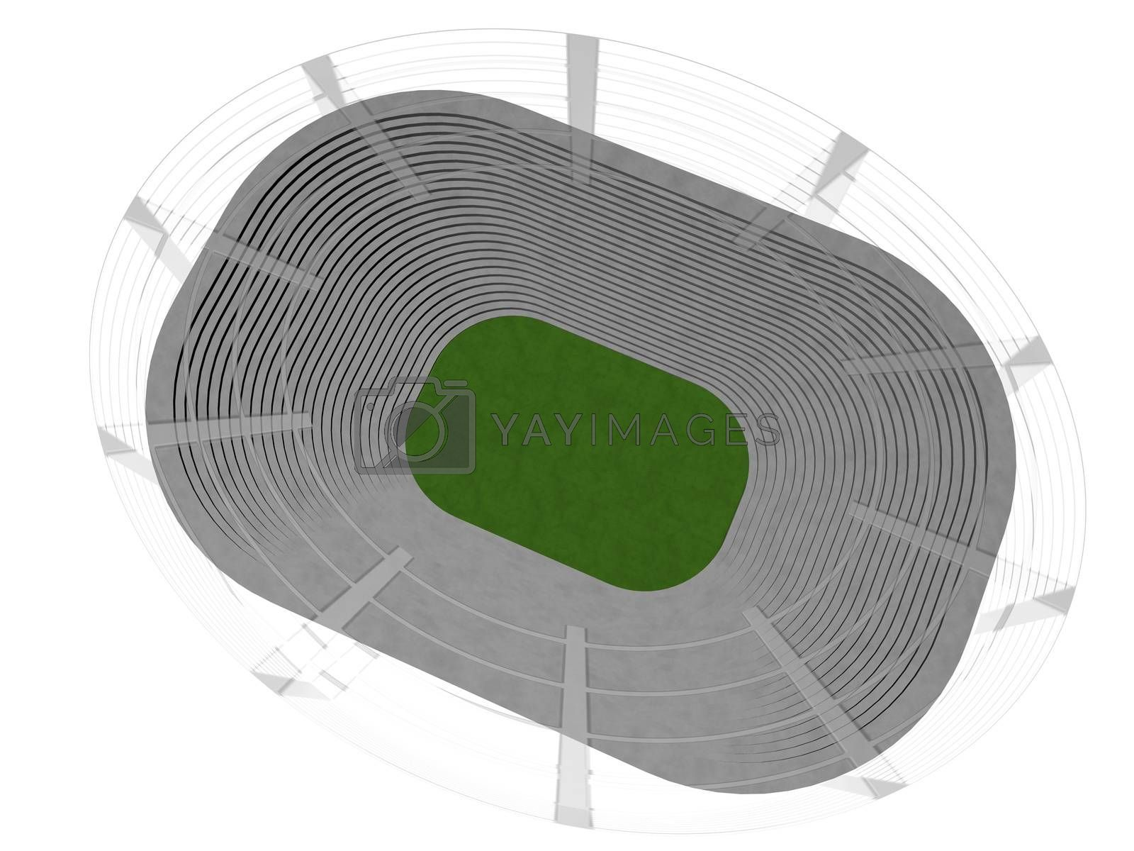Royalty free image of Stadium by Koufax73