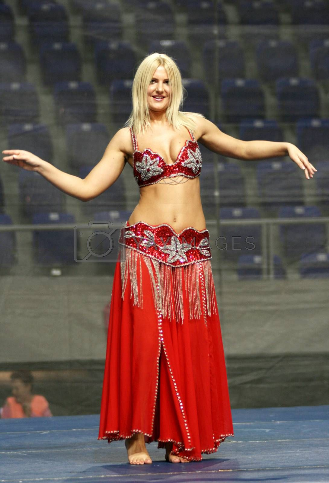 Royalty free image of Belly Dancing by draskovic