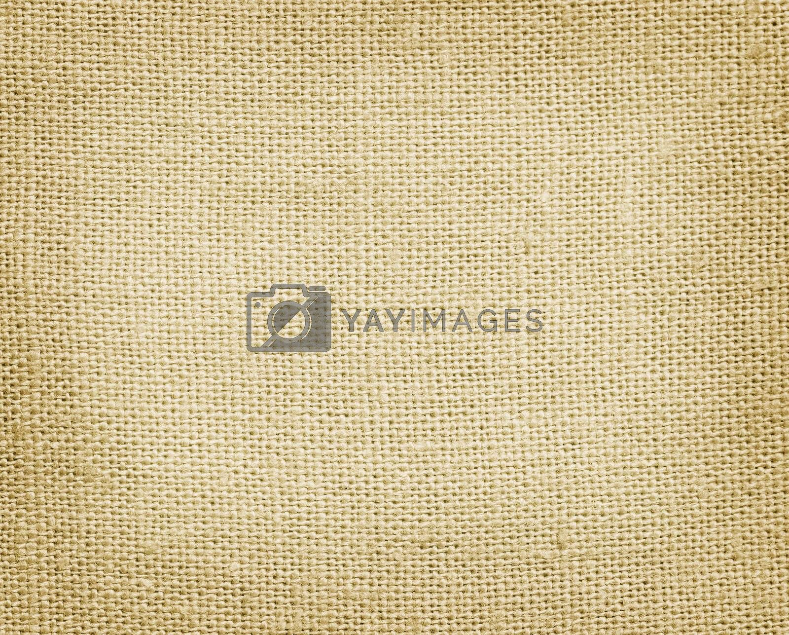 Royalty free image of Burlap texture by vadimmmus