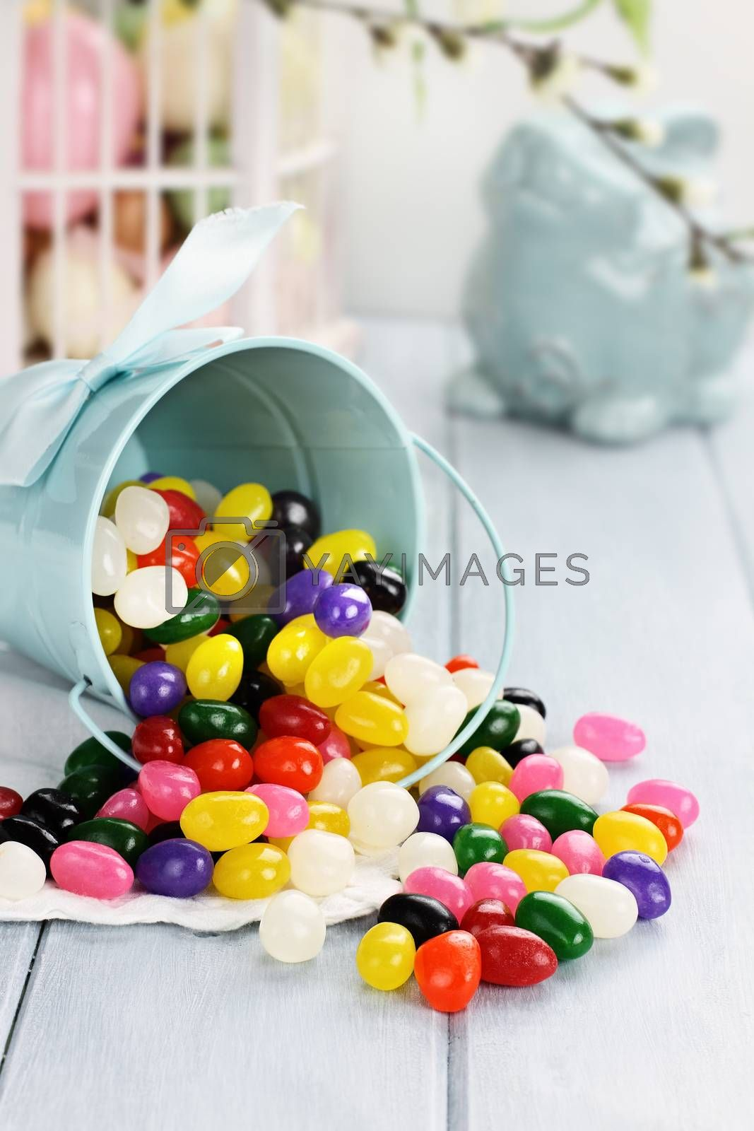 Royalty free image of Colorful Jelly Beans by StephanieFrey