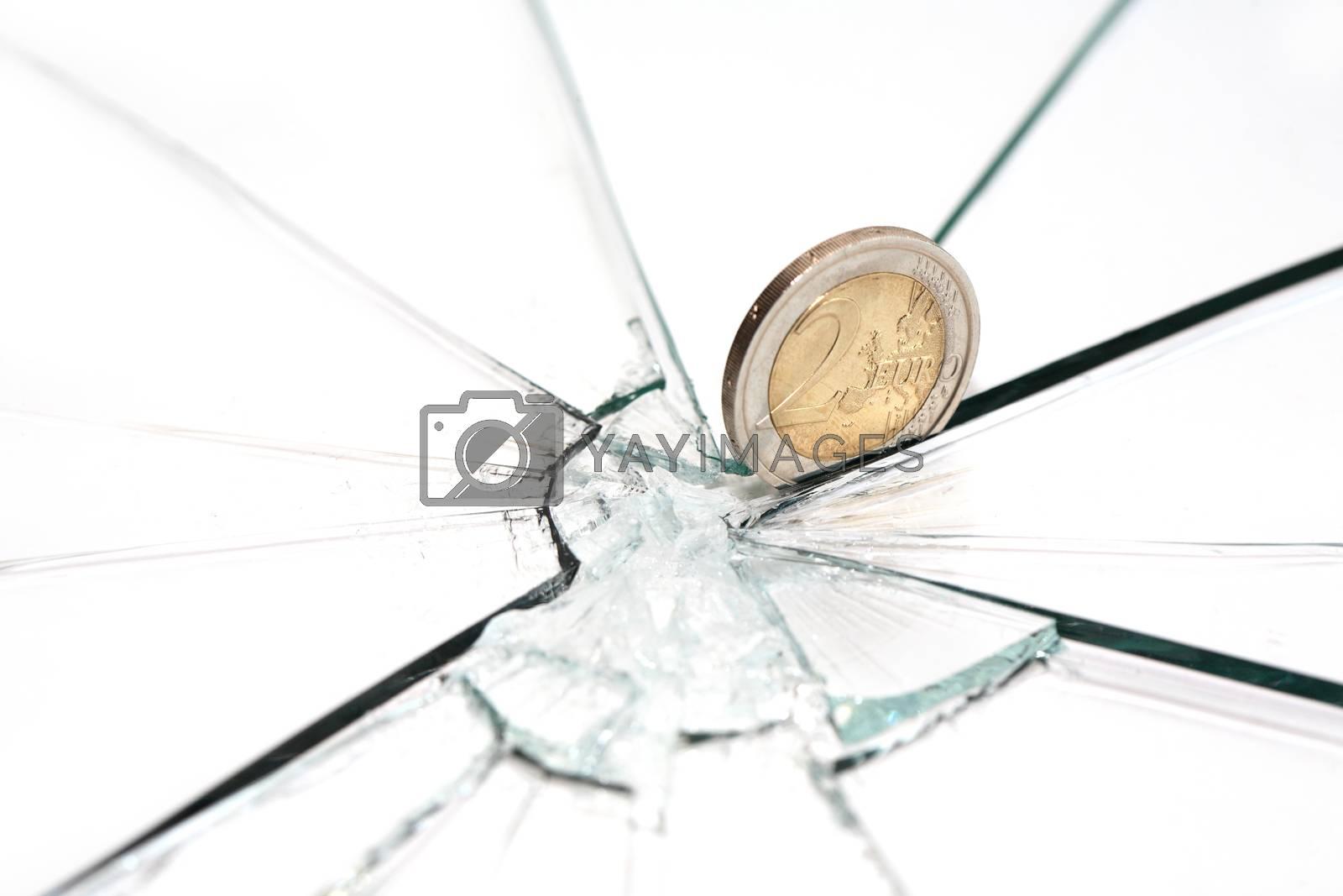 Royalty free image of Financial Crisis by kvkirillov