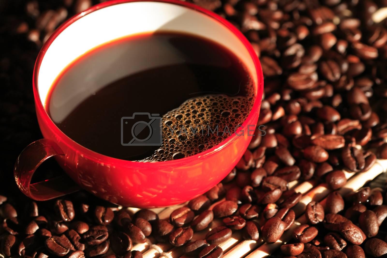 Royalty free image of Black Coffee by kvkirillov
