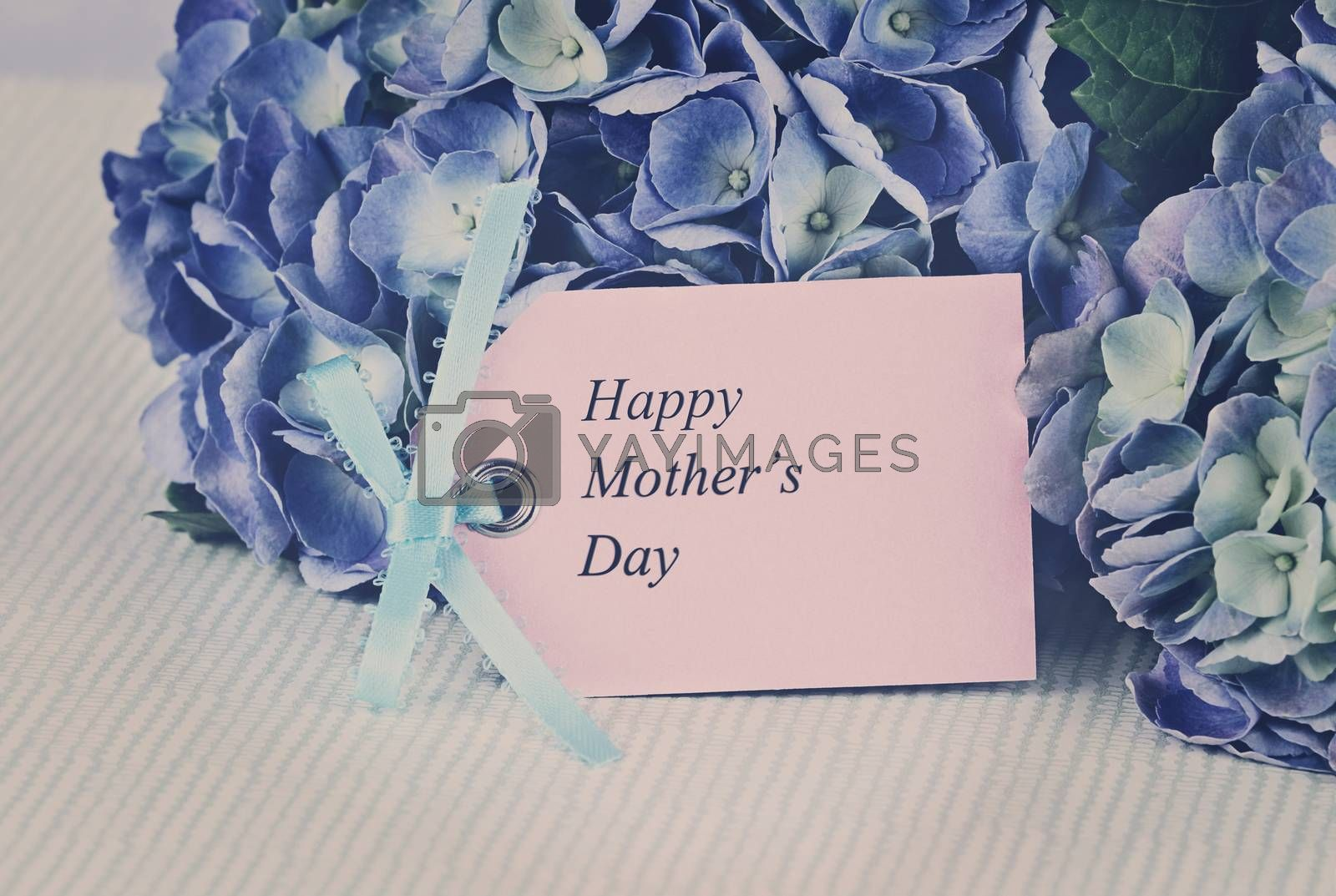 Royalty free image of Faded Mothers Day Card and Flowers by StephanieFrey