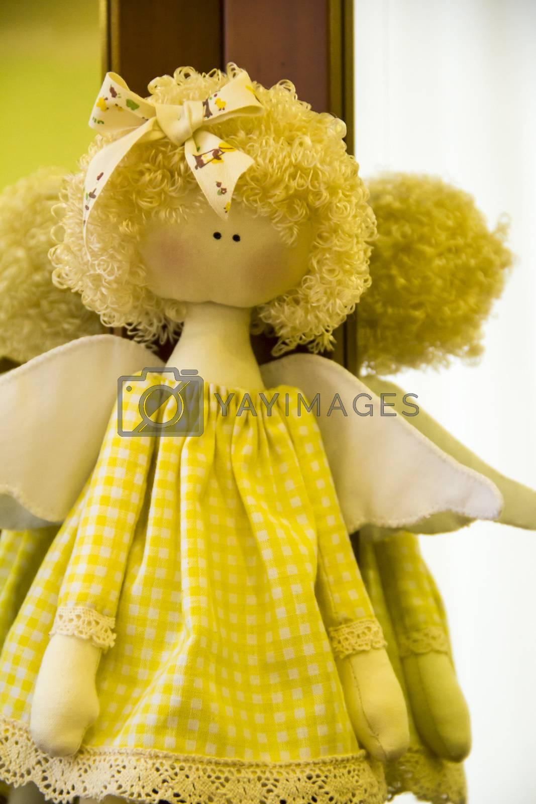 Royalty free image of doll angell by Irinavk