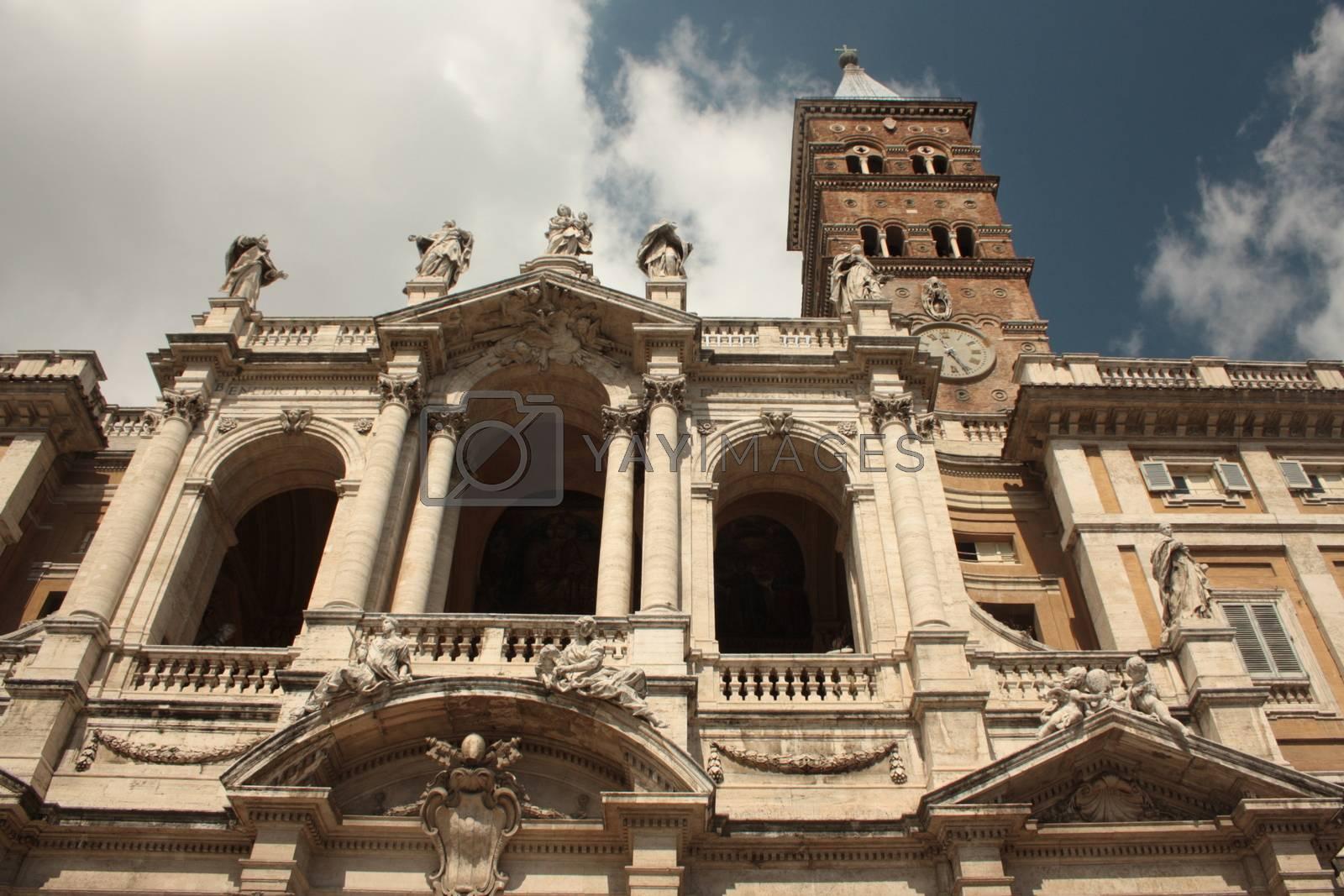Royalty free image of Prospettiva di una chiesa by orsinico