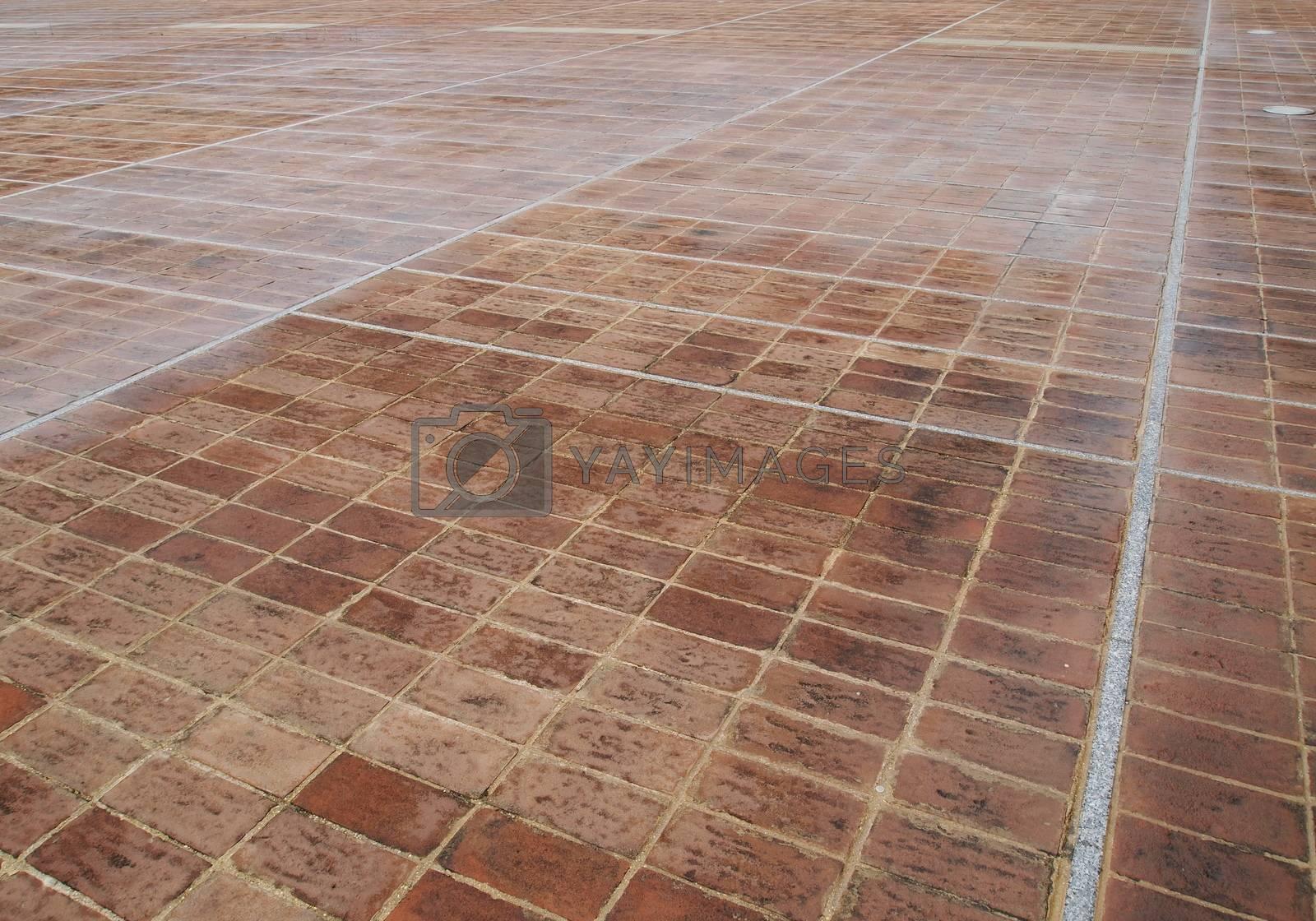 Royalty free image of Pavimento di cotto da usare come sfondo by orsinico