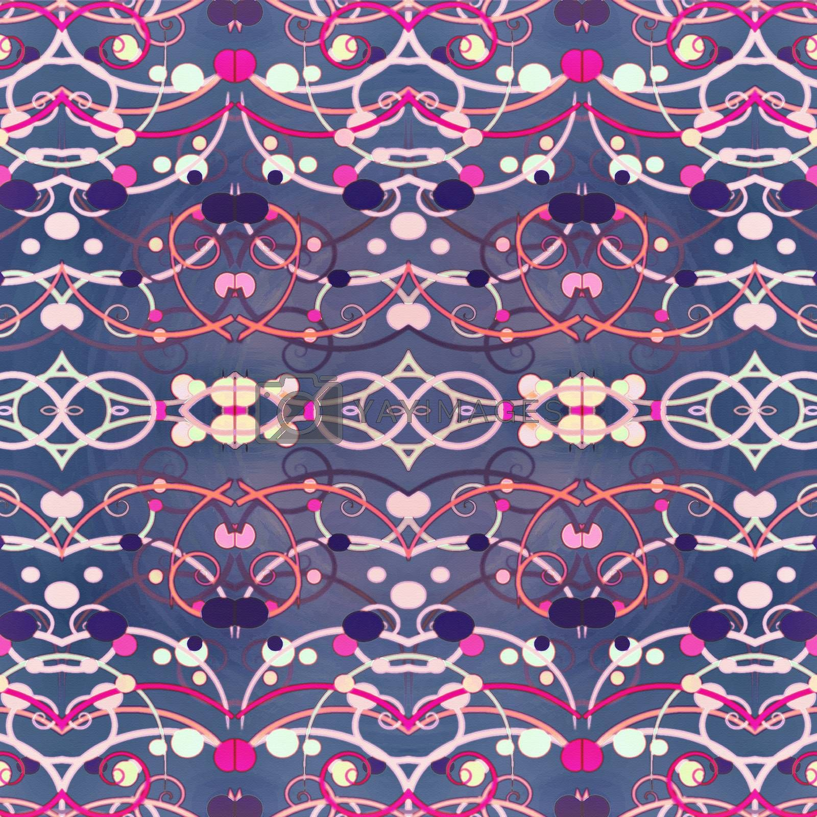 Royalty free image of Abstract Deco Background by DanFLCreative