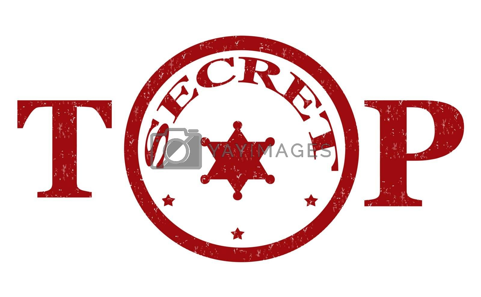 Royalty free image of Top secret stamp by roxanabalint