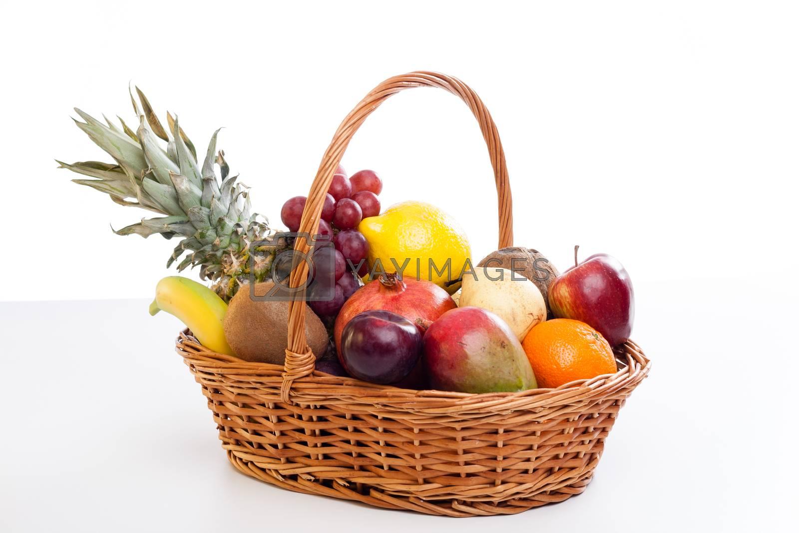 Royalty free image of Fruit basket by furo_felix