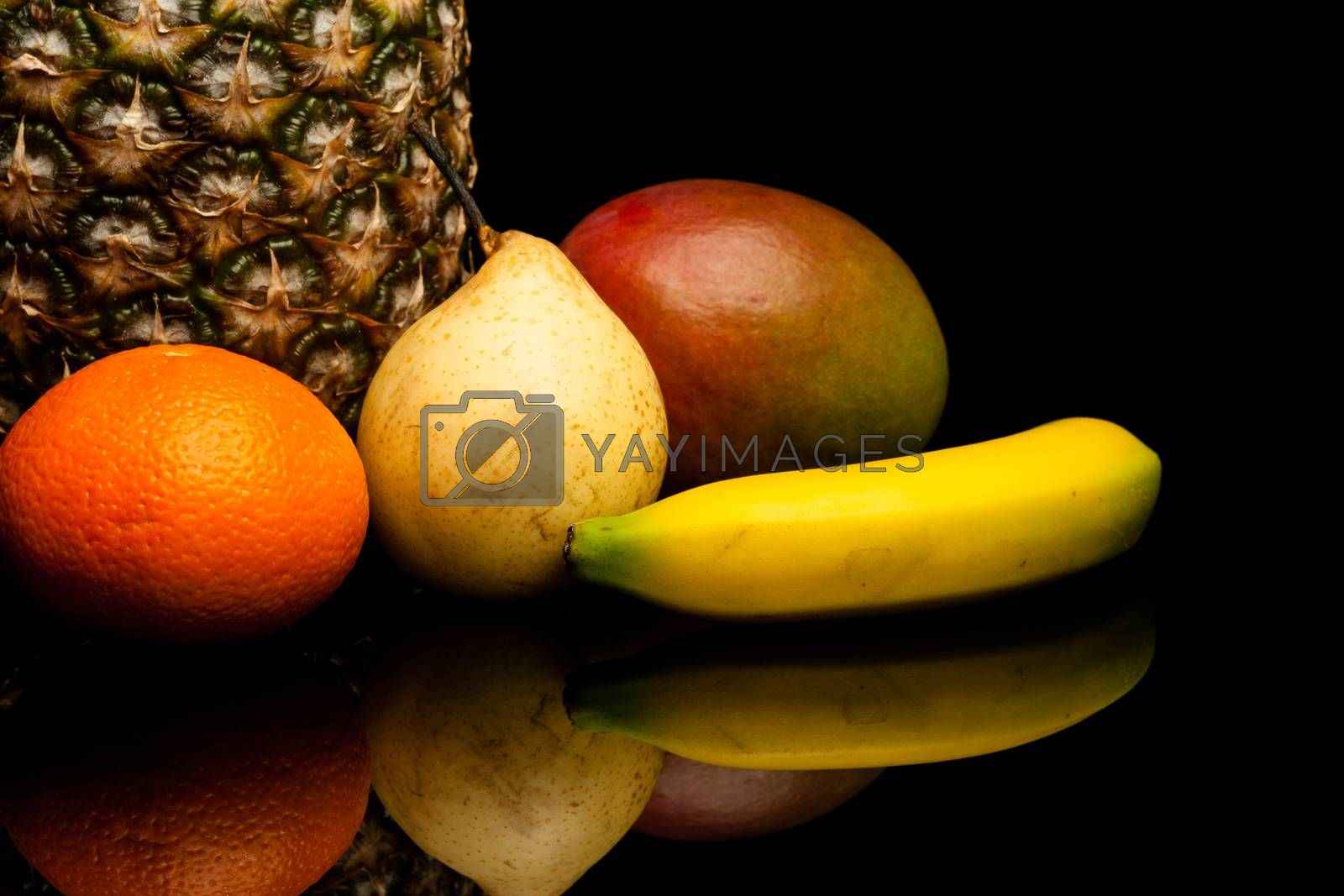 Royalty free image of fruits by furo_felix