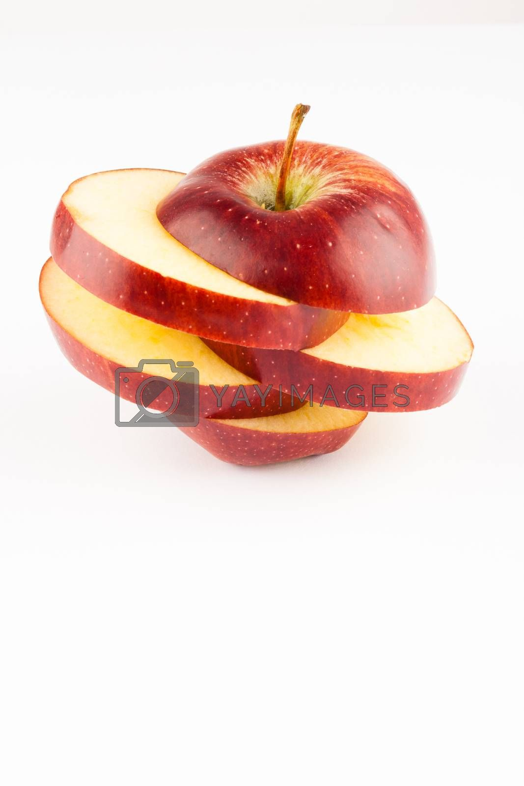 Royalty free image of sliced apple by furo_felix