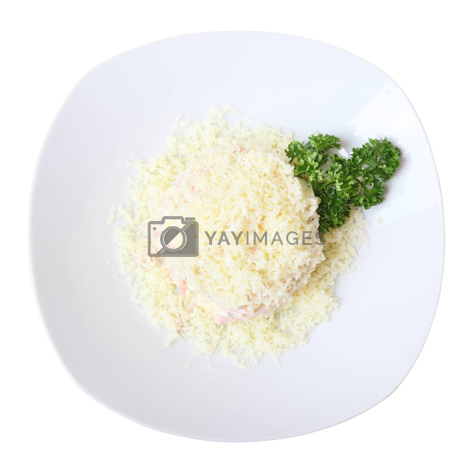 Royalty free image of confetti salad by whiterabbit
