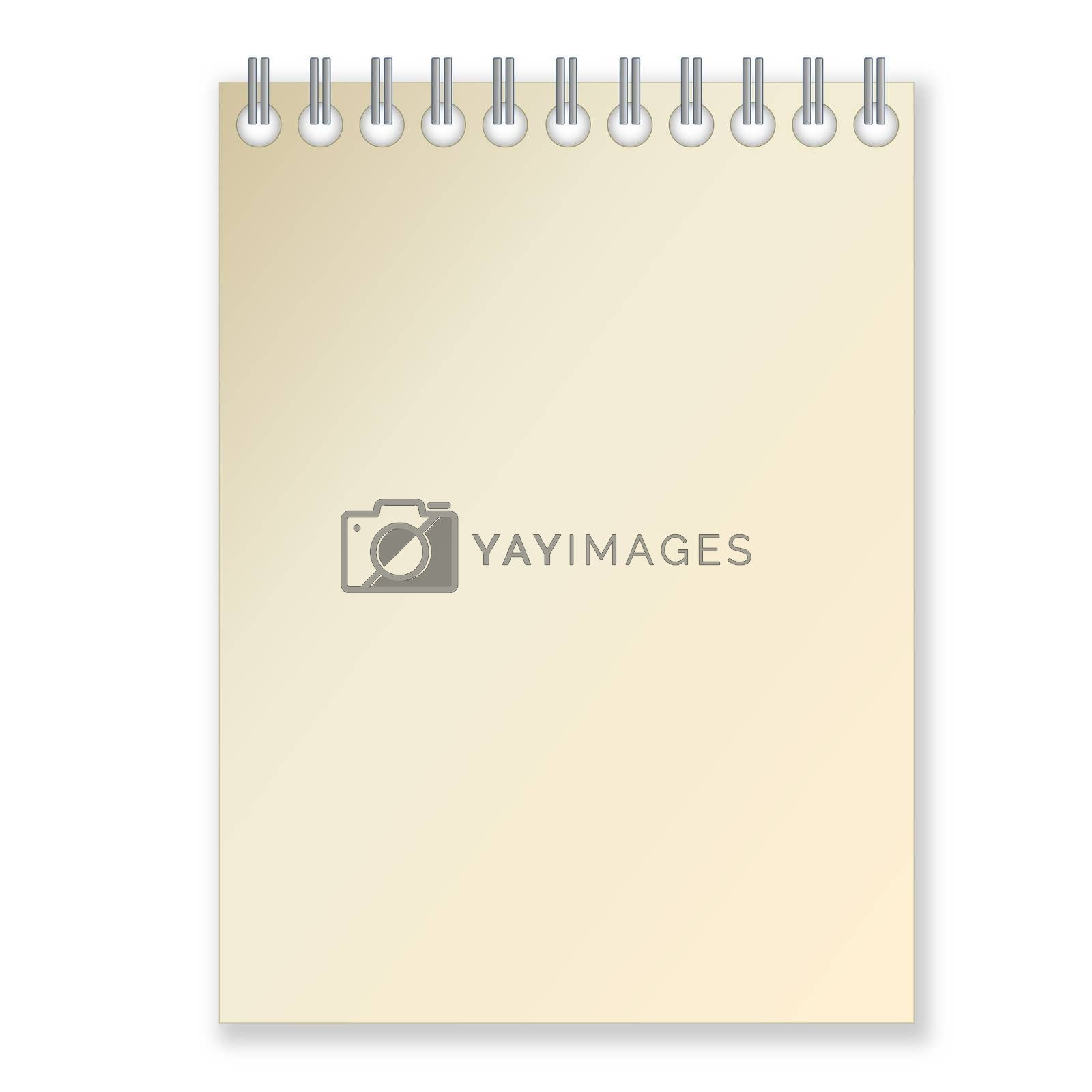 Royalty free image of Notebook by Elenaphotos21