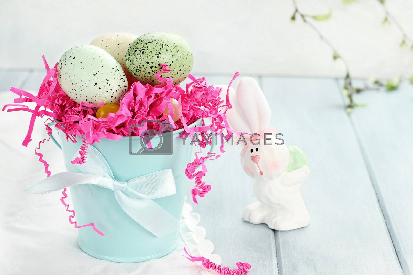 Royalty free image of Spotted Easter Eggs by StephanieFrey