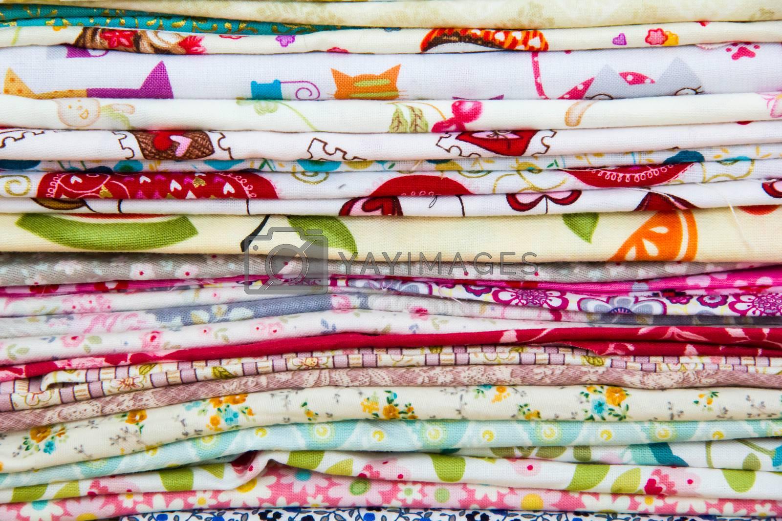Royalty free image of fabric by Irinavk