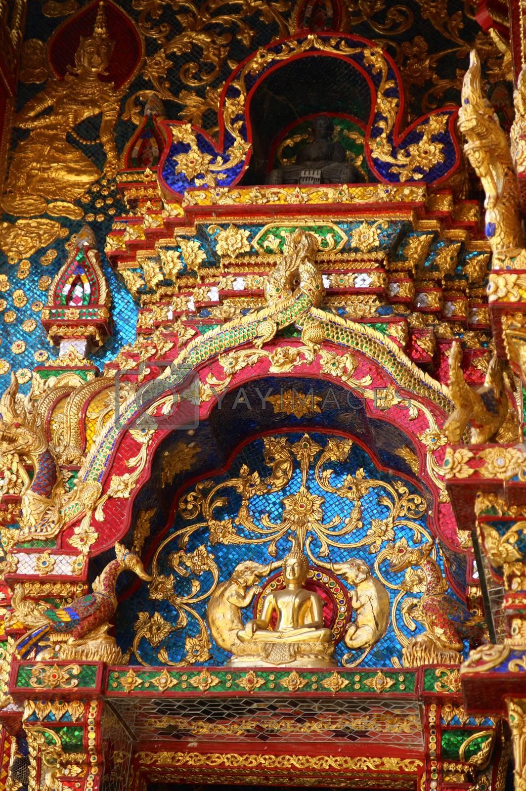 Royalty free image of golden gate1 by nattapatt