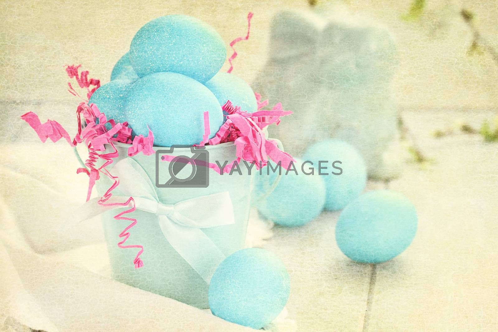 Royalty free image of Vintage Easter Eggs by StephanieFrey