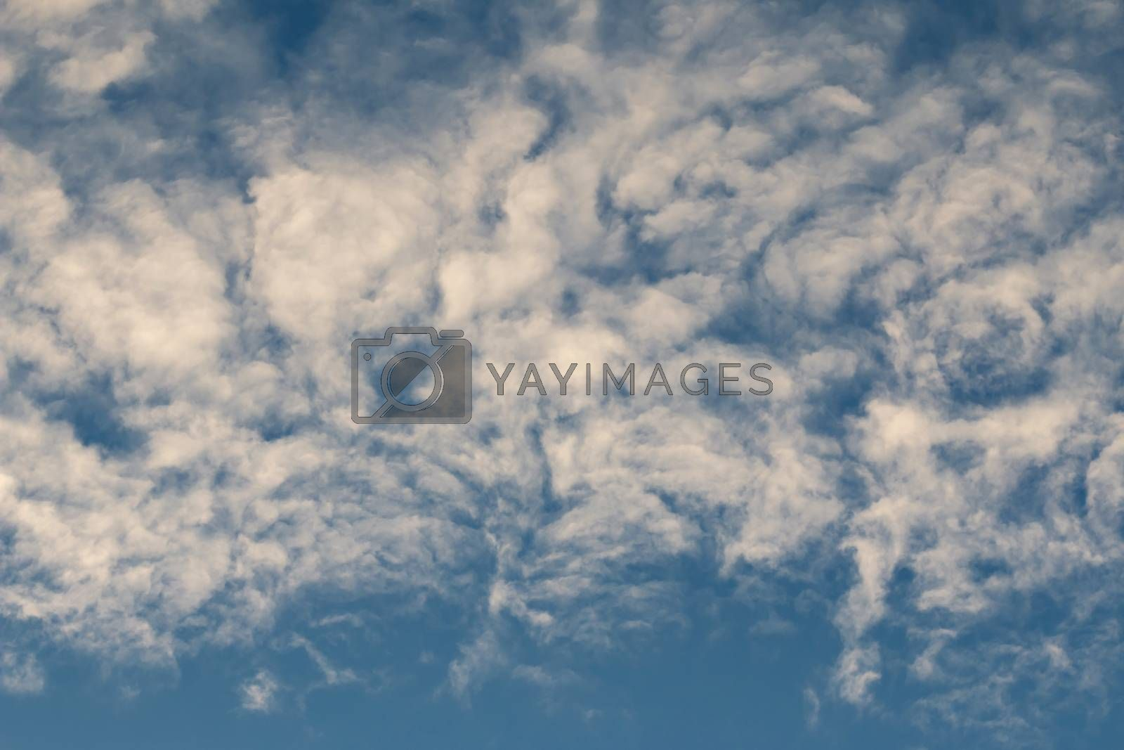 Royalty free image of bizarre clouds by Mibuch