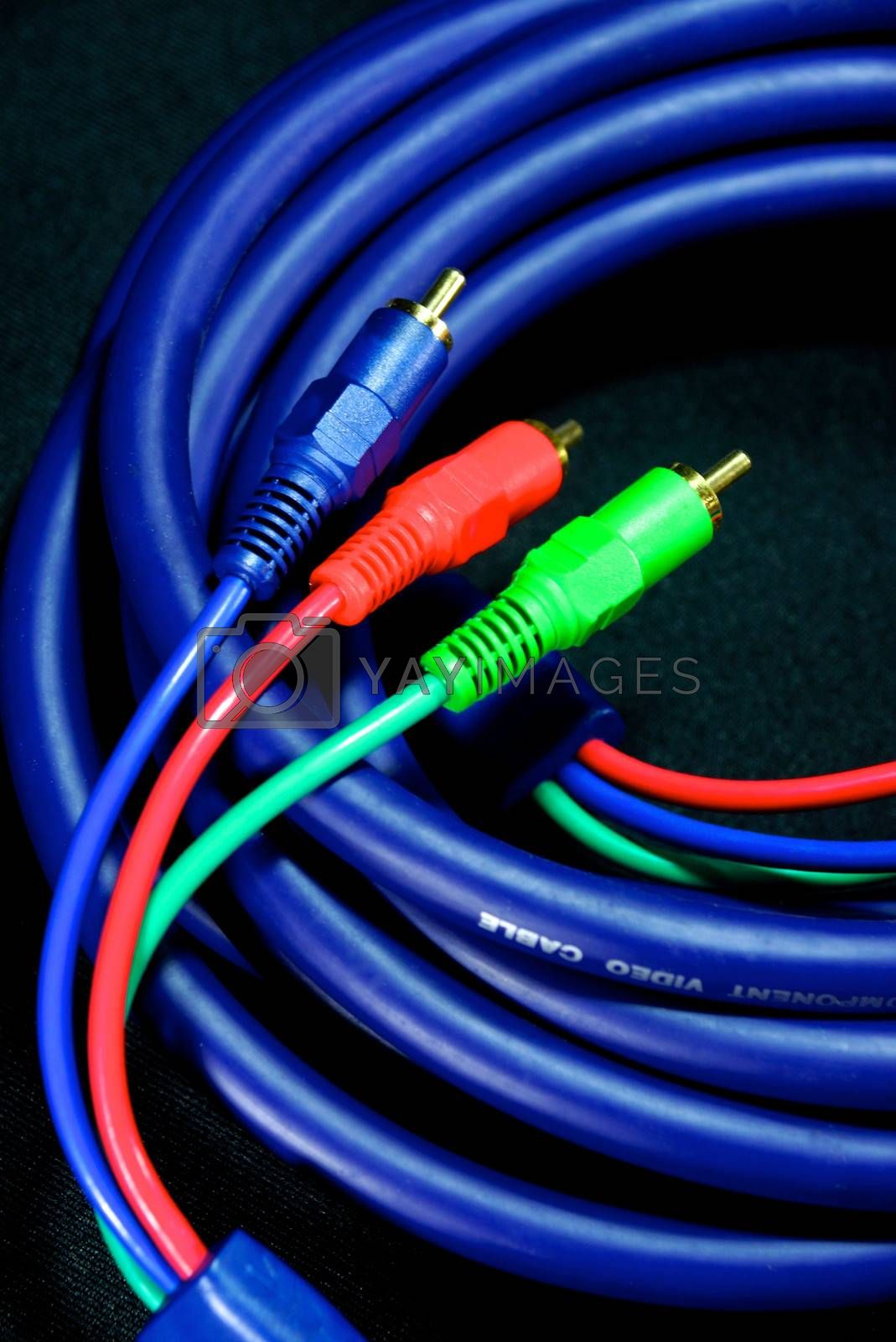 Royalty free image of cable and wire 10 by nattapatt