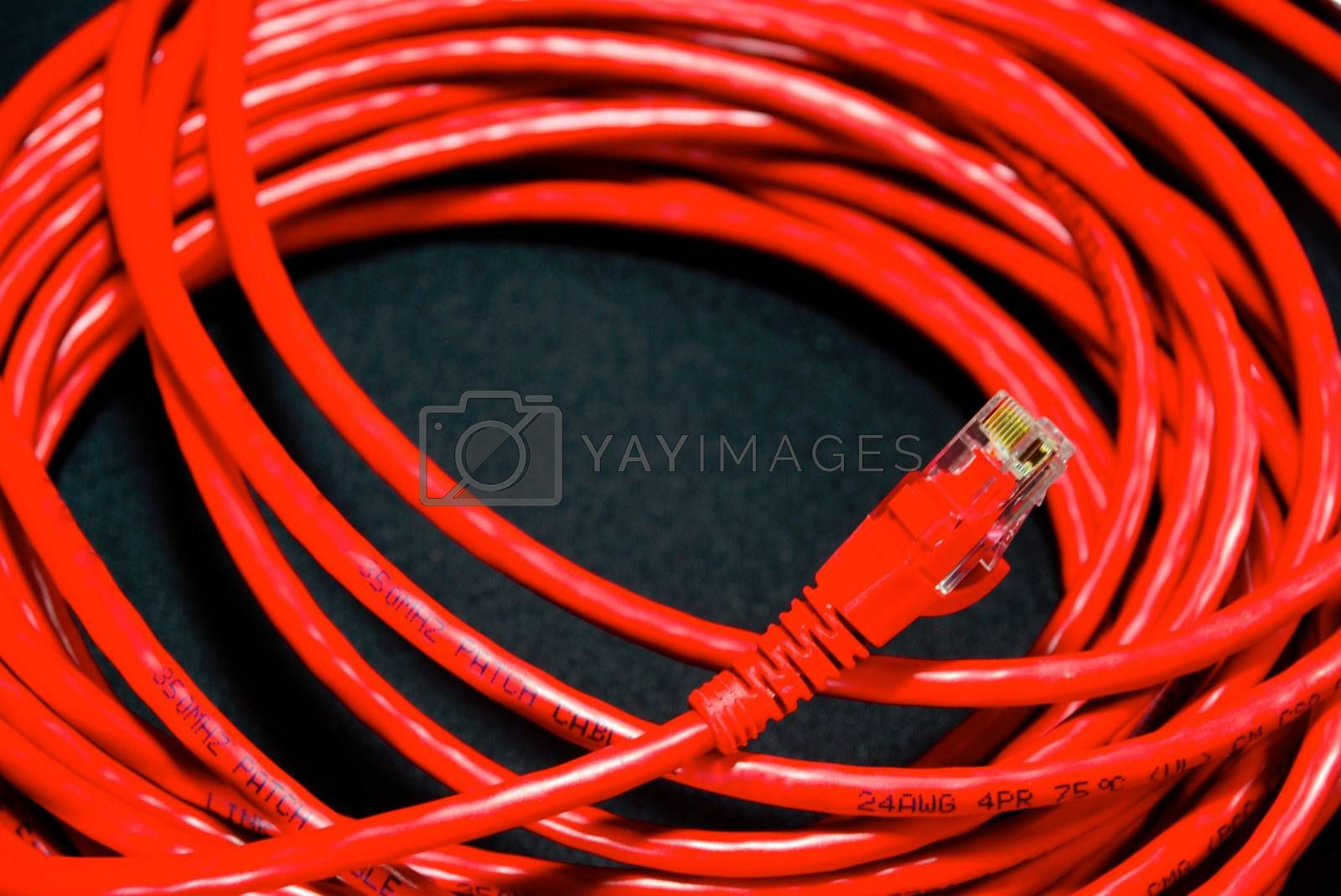 Royalty free image of cable and wire 8 by nattapatt