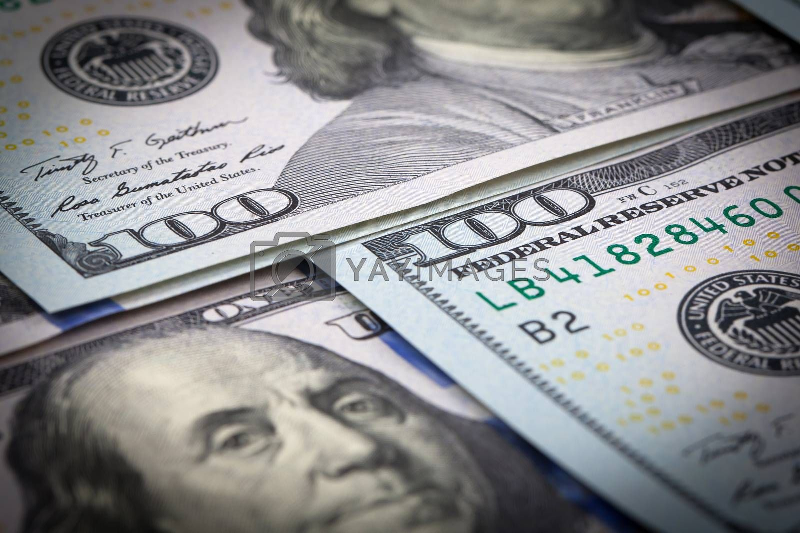 Royalty free image of One Hundred Dollars by marcoscisetti