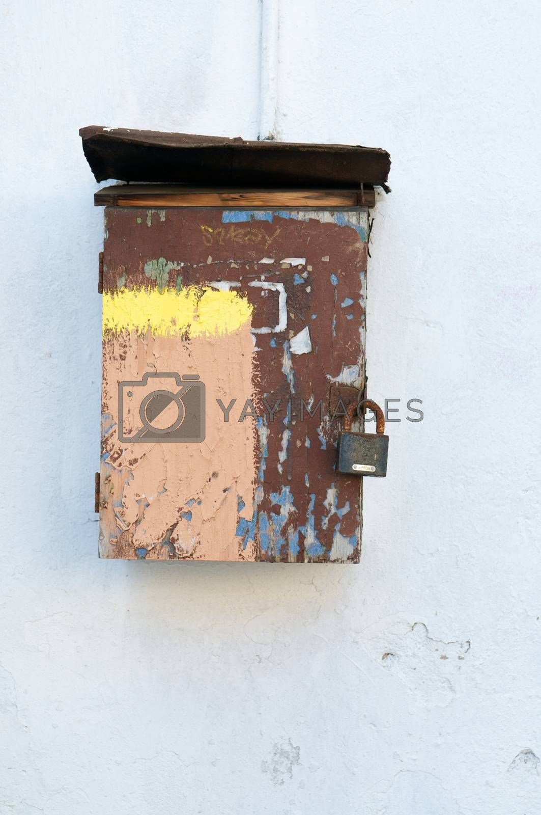 Royalty free image of Rusty mailbox by dyvan