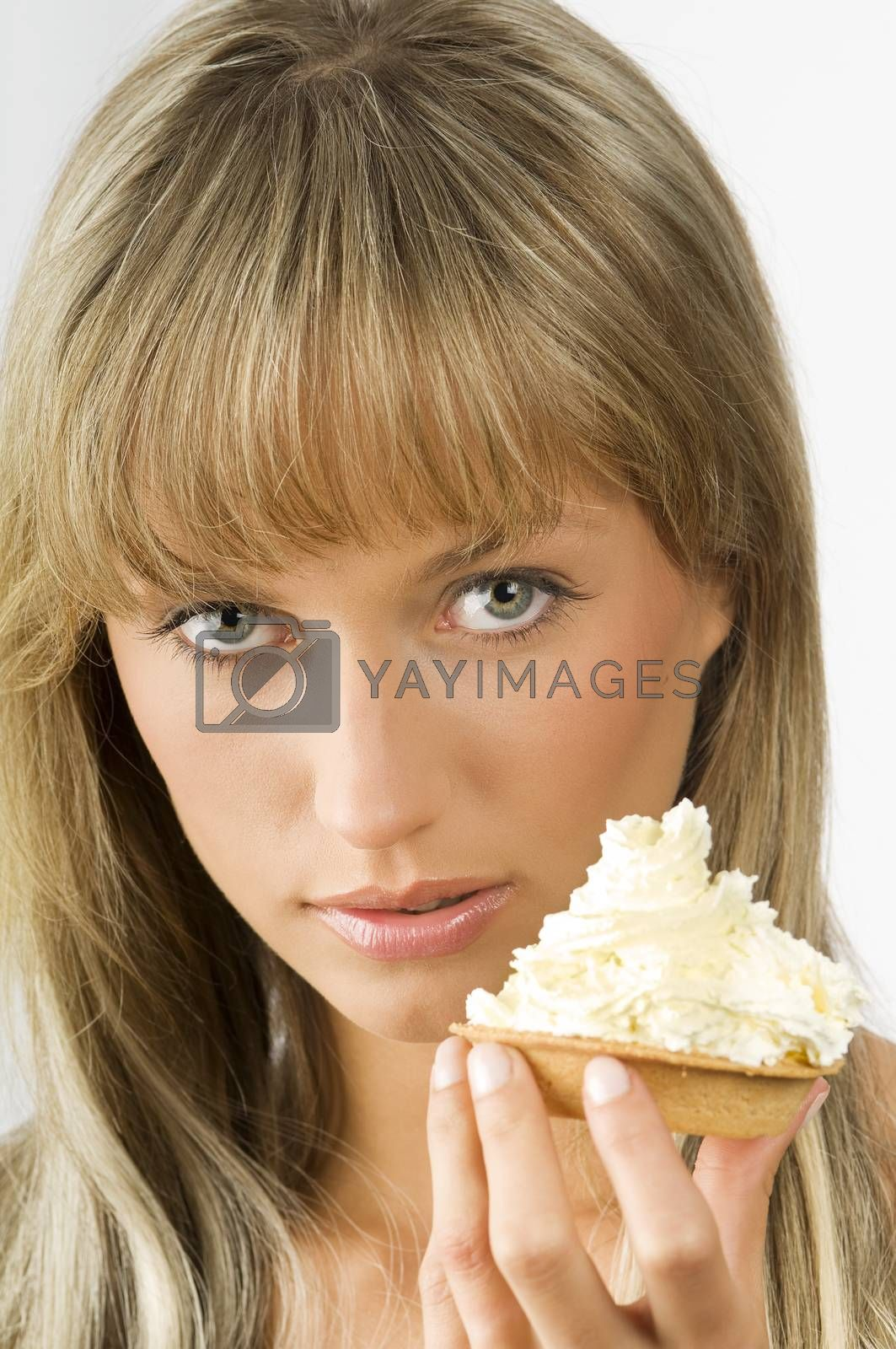 Royalty free image of sweet and soft cream by fotoCD