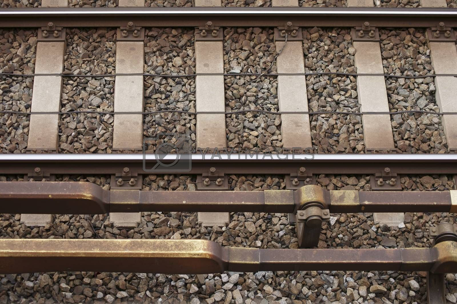 Royalty free image of Track bed by ginton