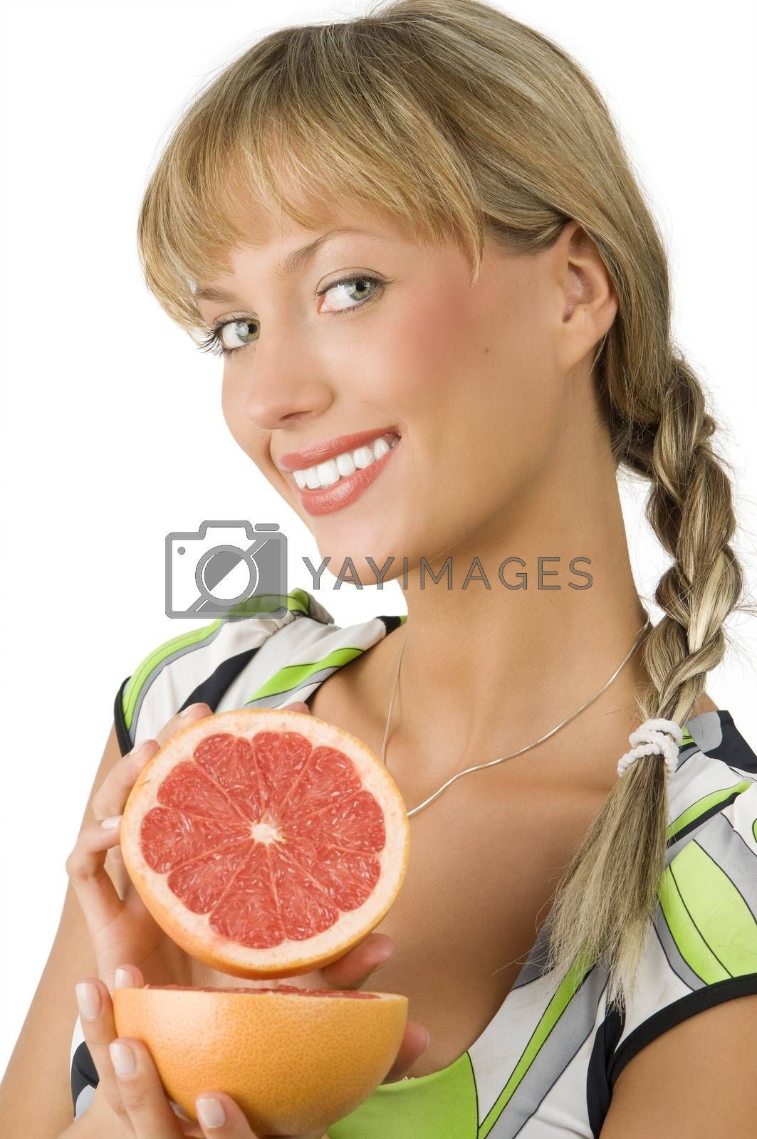 Royalty free image of showing grapefruit by fotoCD