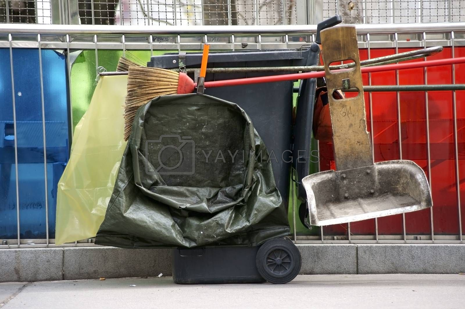 Royalty free image of Street cleaning by ginton