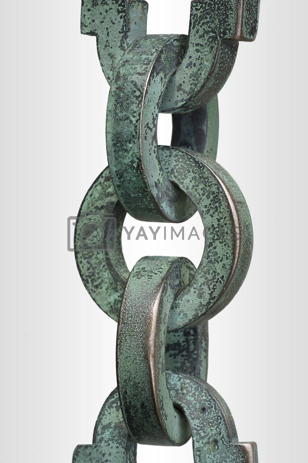 Royalty free image of Chain isolated by ginton