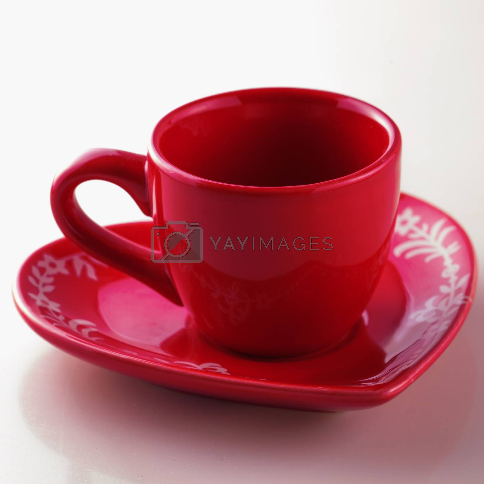 Royalty free image of Red cup by Koufax73