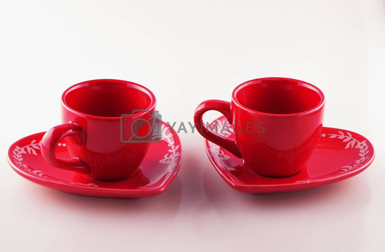 Royalty free image of Red cups by Koufax73