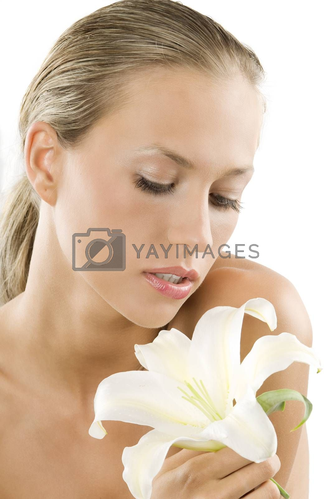 Royalty free image of looking flower by fotoCD