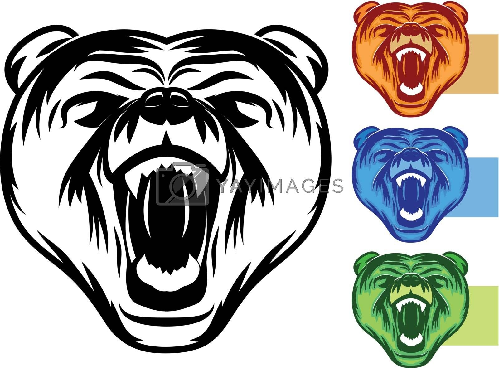 Royalty free image of Bear Mascot Set by graphicgeoff