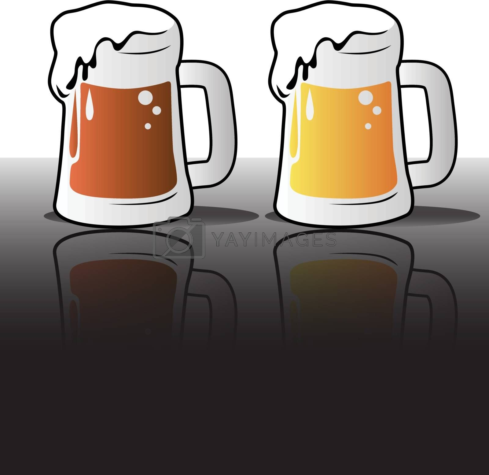 Royalty free image of Beer Icons by graphicgeoff