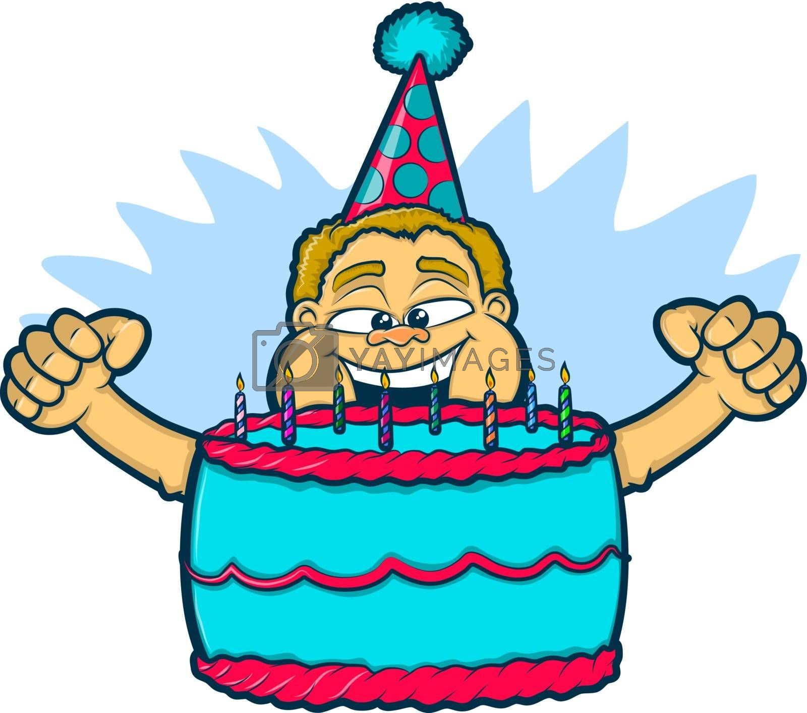 Royalty free image of Birthday Boy by graphicgeoff