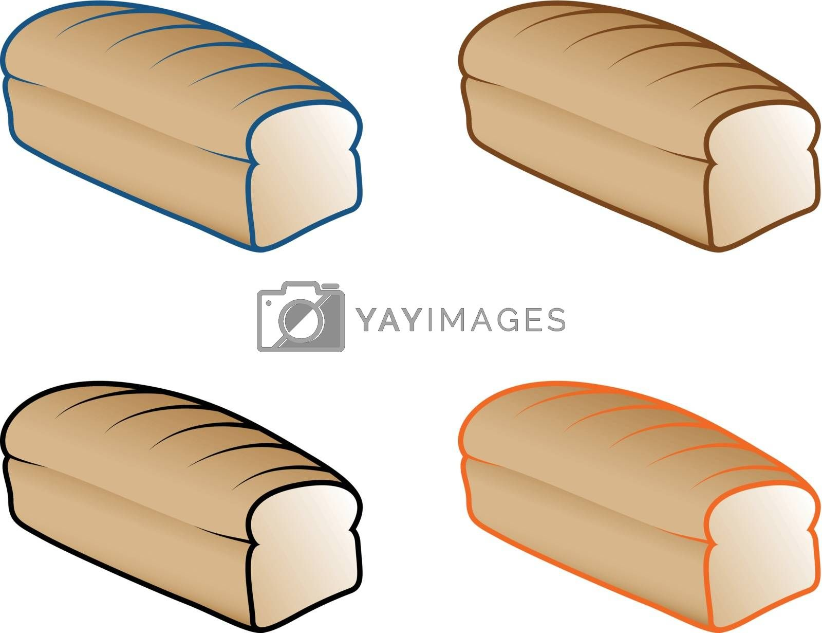 Royalty free image of Bread by graphicgeoff