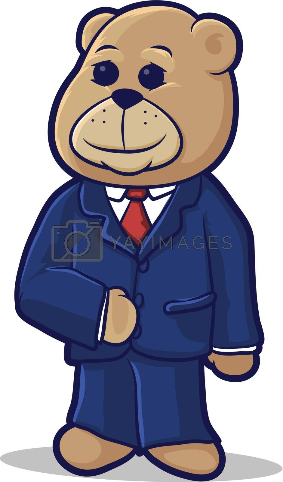 Royalty free image of Business Bear by graphicgeoff