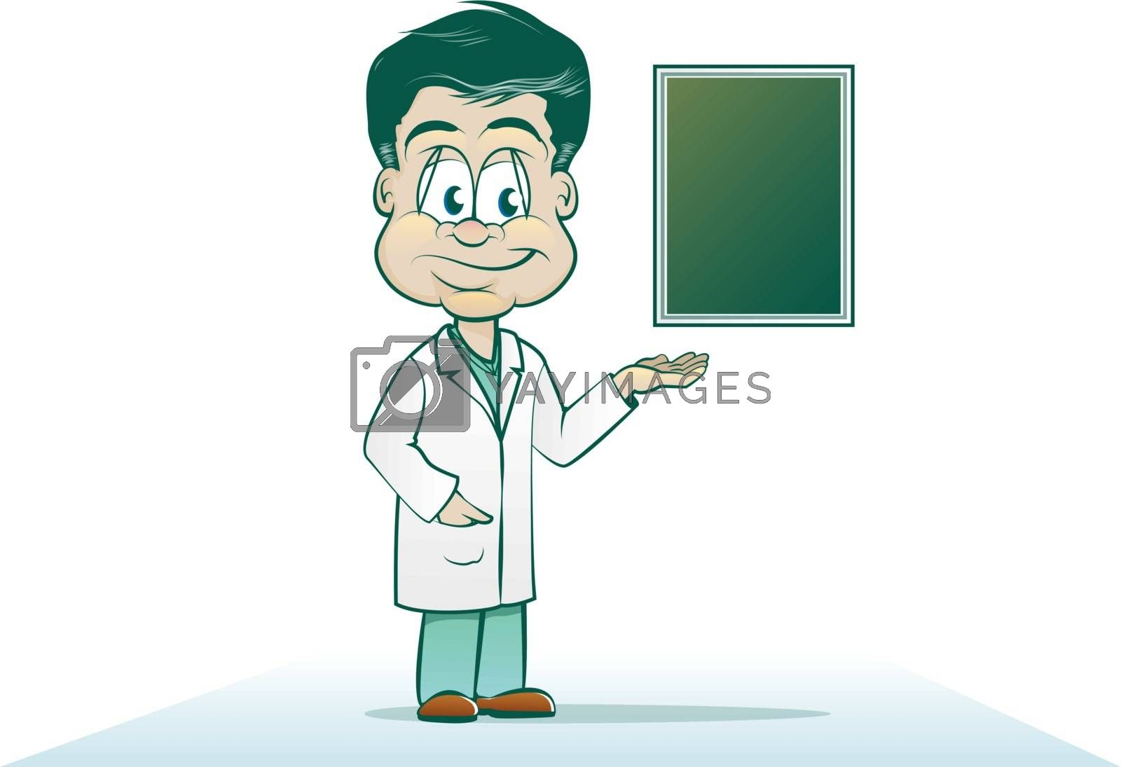 Royalty free image of Doctor Cartoon by graphicgeoff
