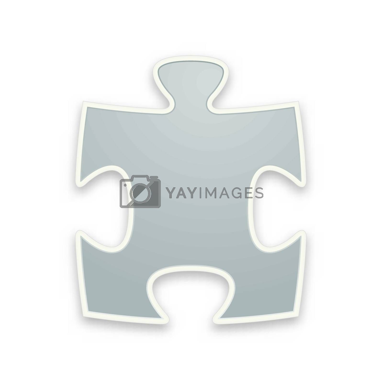 Royalty free image of the puzzle graphic element by madtom