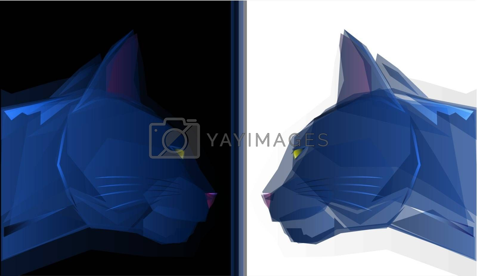 Royalty free image of Cat by graphicgeoff