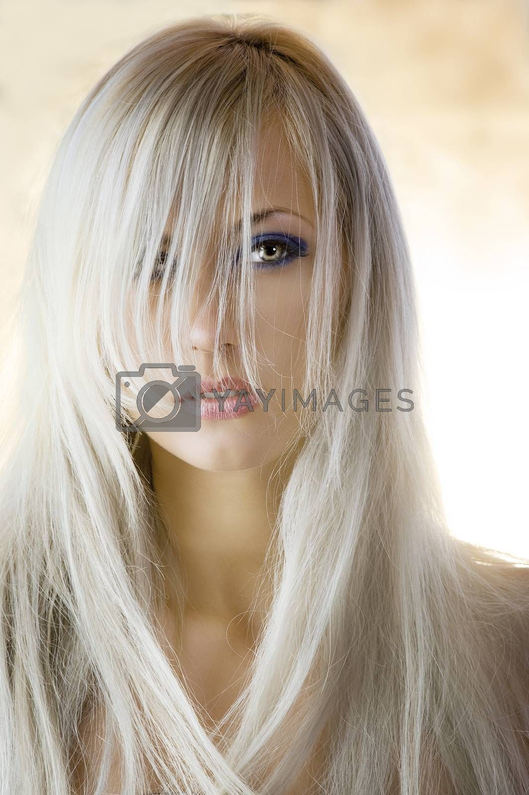 Royalty free image of beauty portrait by fotoCD