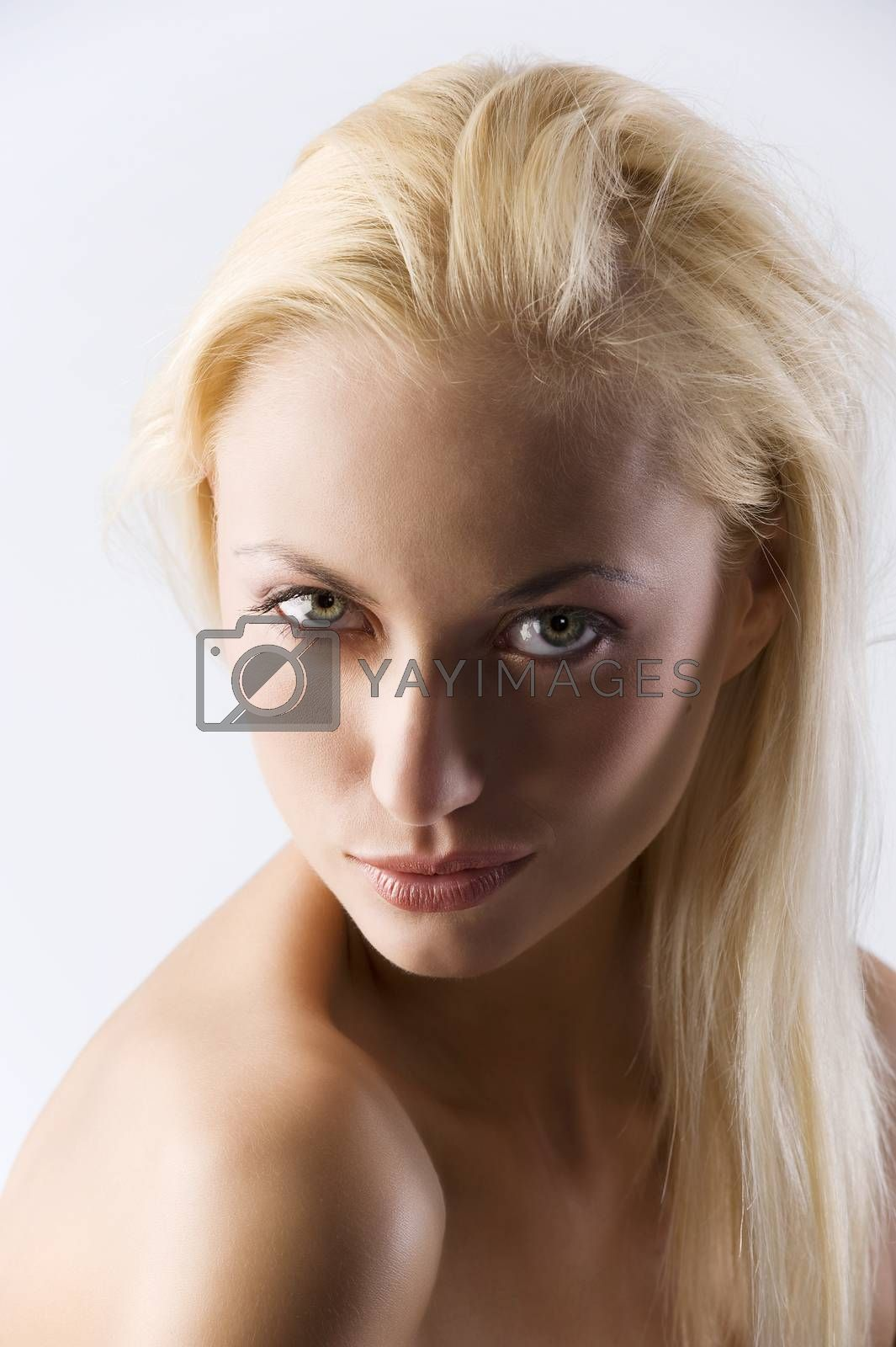 Royalty free image of naked shoulder by fotoCD