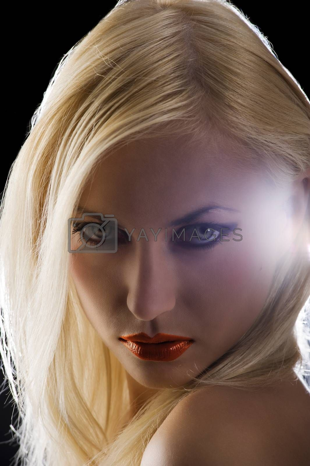 Royalty free image of strong eyes by fotoCD