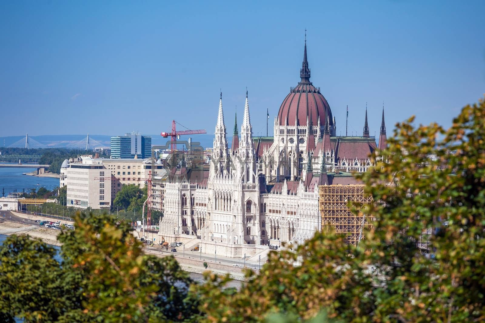 Royalty free image of Hungarian Parliament Building by PixAchi