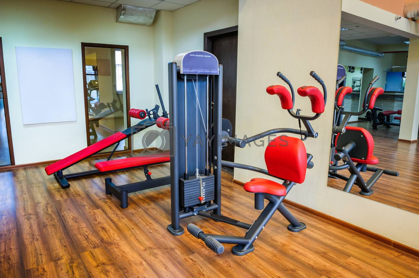 Royalty free image of gym interior by starush